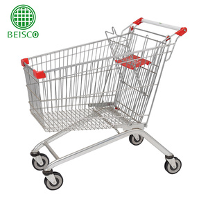 Hot Sale 180 liters electric shopping trolley