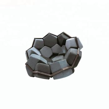 Luxe Design Fauteuil.Italiaanse Luxe Stof Cover Rvs Frame Quartz Fauteuil Ontwerp Buy