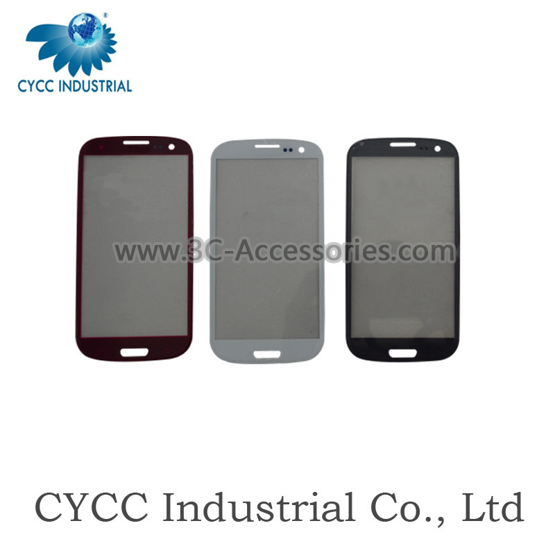 China Supplier Cell Phone i9300 Glass Lens for Samsung S3