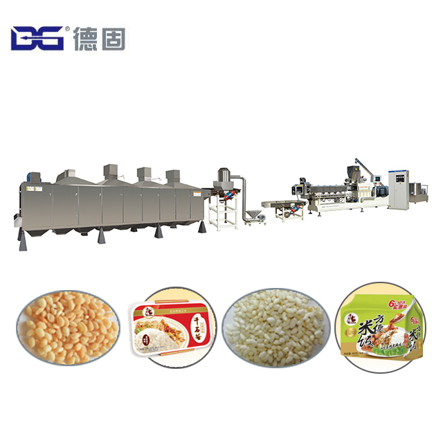 Automatic Rice Flakes/poha/rice Crispies Cereal Snack Food Extrusion Making  Machine Produce Process Plant - Buy Rice Flakes/poha/rice Crispies Cereal