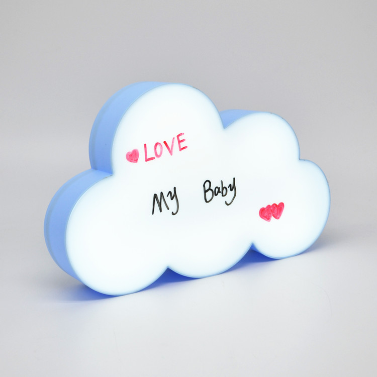 LED Sign Light for Gift Anniversary Home Decor DIY Handwriting Night Light Box with three Pens