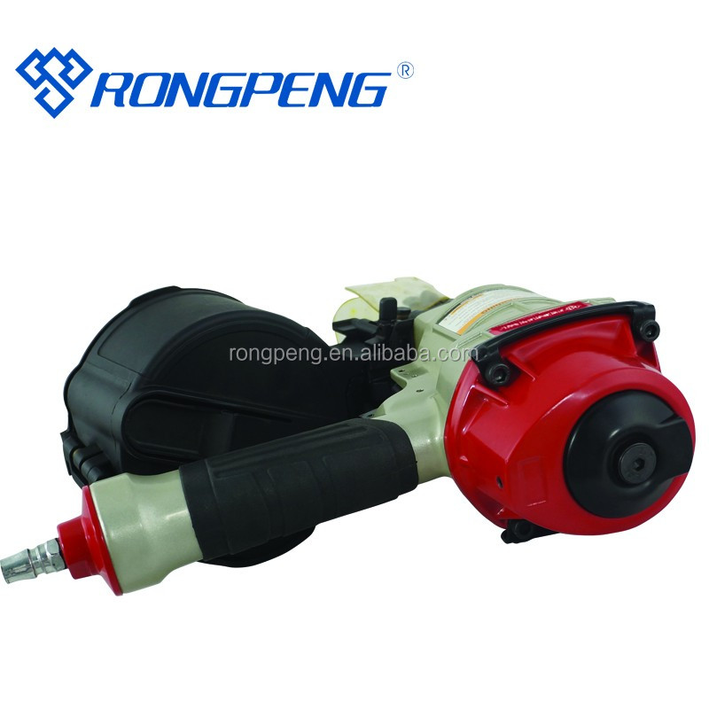 Cn55rs Air Roofing Coil Nail Gun With 15 Degree Flat Wire