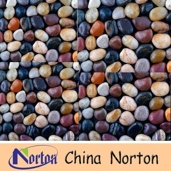Natural Polished Garden Pebble Stone Outdoor Flooring NTCS P0105R
