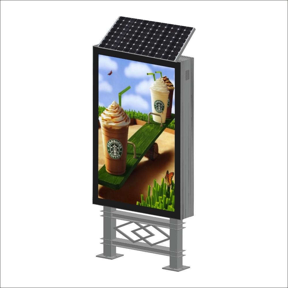 product-YEROO-Solar power advertising light box mupi-img-5