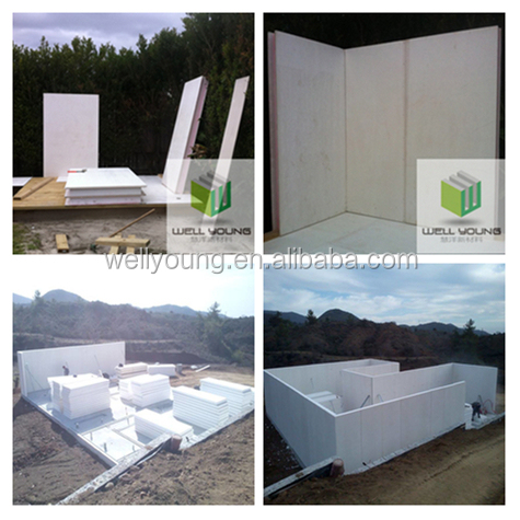 Structural Insulated Panel For Passive House In Europe