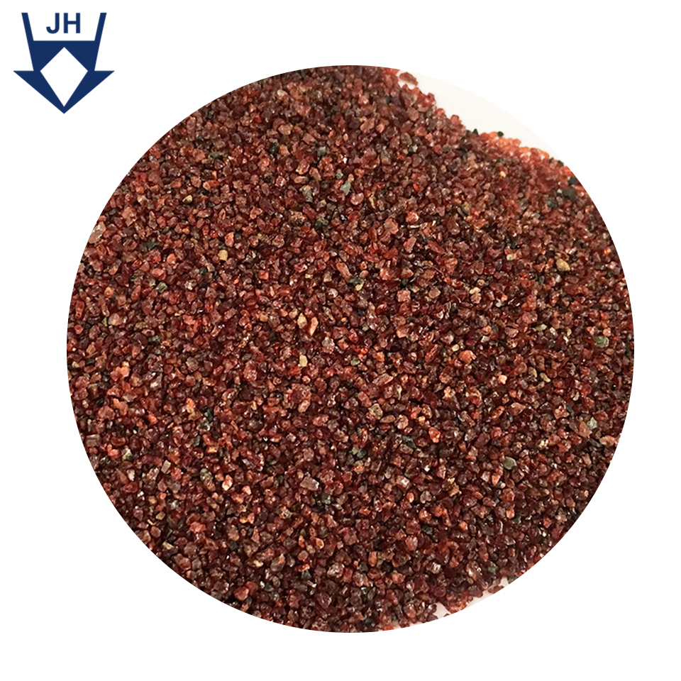 Stock Clearance Sale Natural Color 20/40mesh Abrasive Cleaning Blasting Garnet Sand