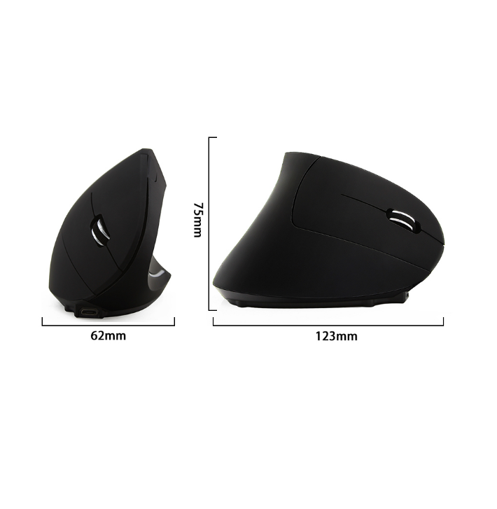 Hot saling  Wireless Ergonomic Mouse 5d 2.4G Wireless Vertical Mouse for USB Receiver