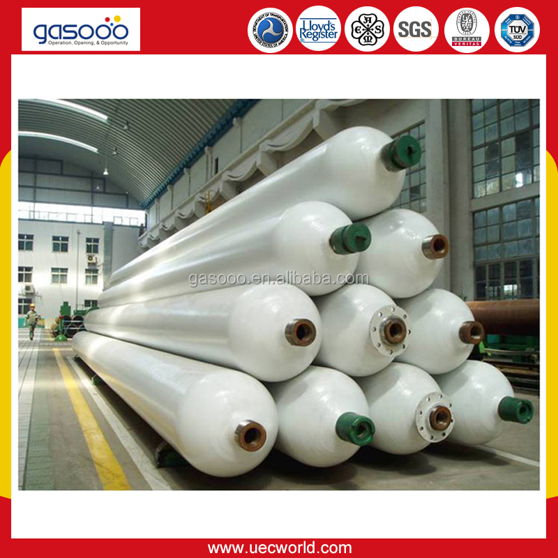40ft 10tubes CNG tube trailer for high pressure helium gas