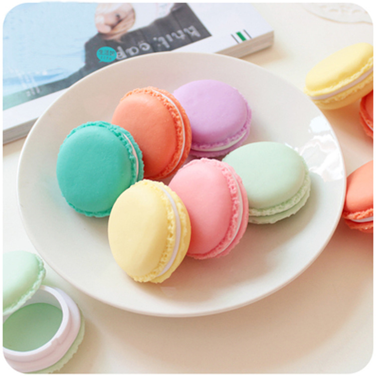 Macarons Colorful SD Card Coins Carry Box Earphone Handsfree Gather Case USB Cable Organizer