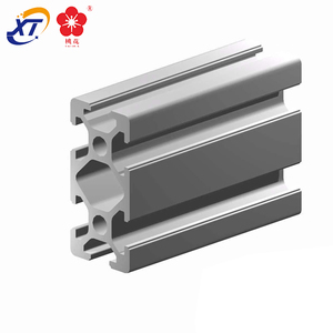 Low price high quality custom extruded aluminum T U V gutter profile