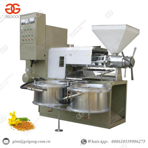 Automatic Commerical Olive Sesame Avocado Oil Extraction Press Making Coconut Sunflower Soybean Oil Refining Machine