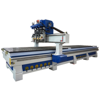 Hot sale furniture make cnc router machine for wood door ATC cabinet making cnc machine