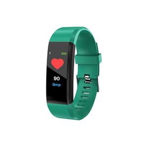 Very hot product ID115 plus smart bracelet fitness tracker ring power balance sport health wristband