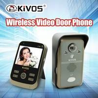 KIVOS 3.5 inch 2.4G door phone good quality wholesale door bell