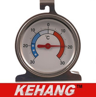 Stainless Fridge/Freezer Thermometer
