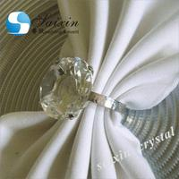 SX-NR-001 crystal rhinestone diamond napkin rings for weddings