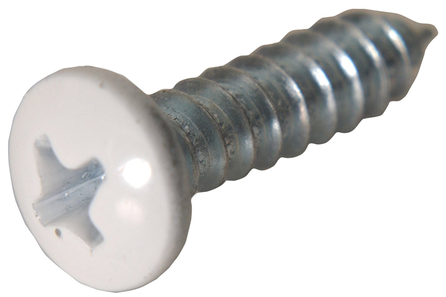 The Hillman Group 80255 10-Inch x 2-Inch Pan Head Phillips Sheet Metal Screw, 50-Pack