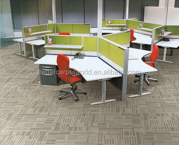 hexagon shape modular commercial carpet fire resistant carpet tiles for office