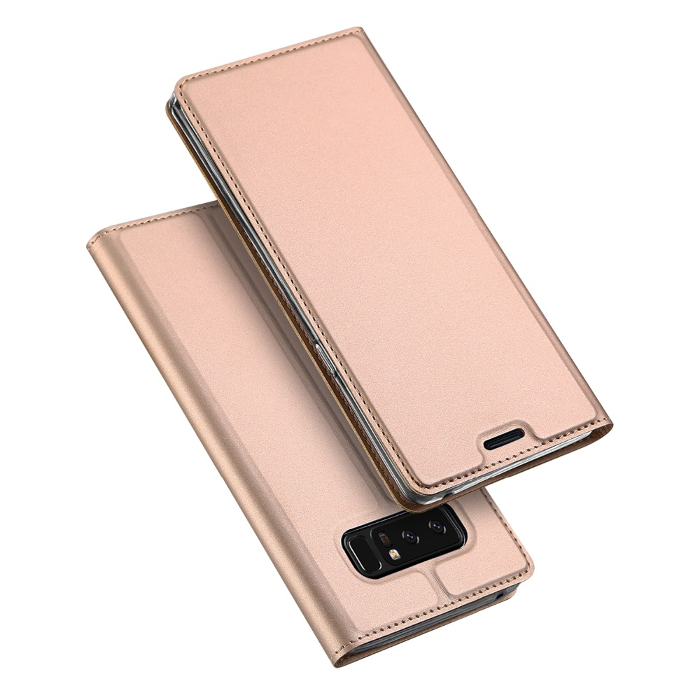 Card slot wallet case for Samsung galaxy note 8 magnetic PU leather case Dux Ducis for samsung note 8 skin flip case MT-6569