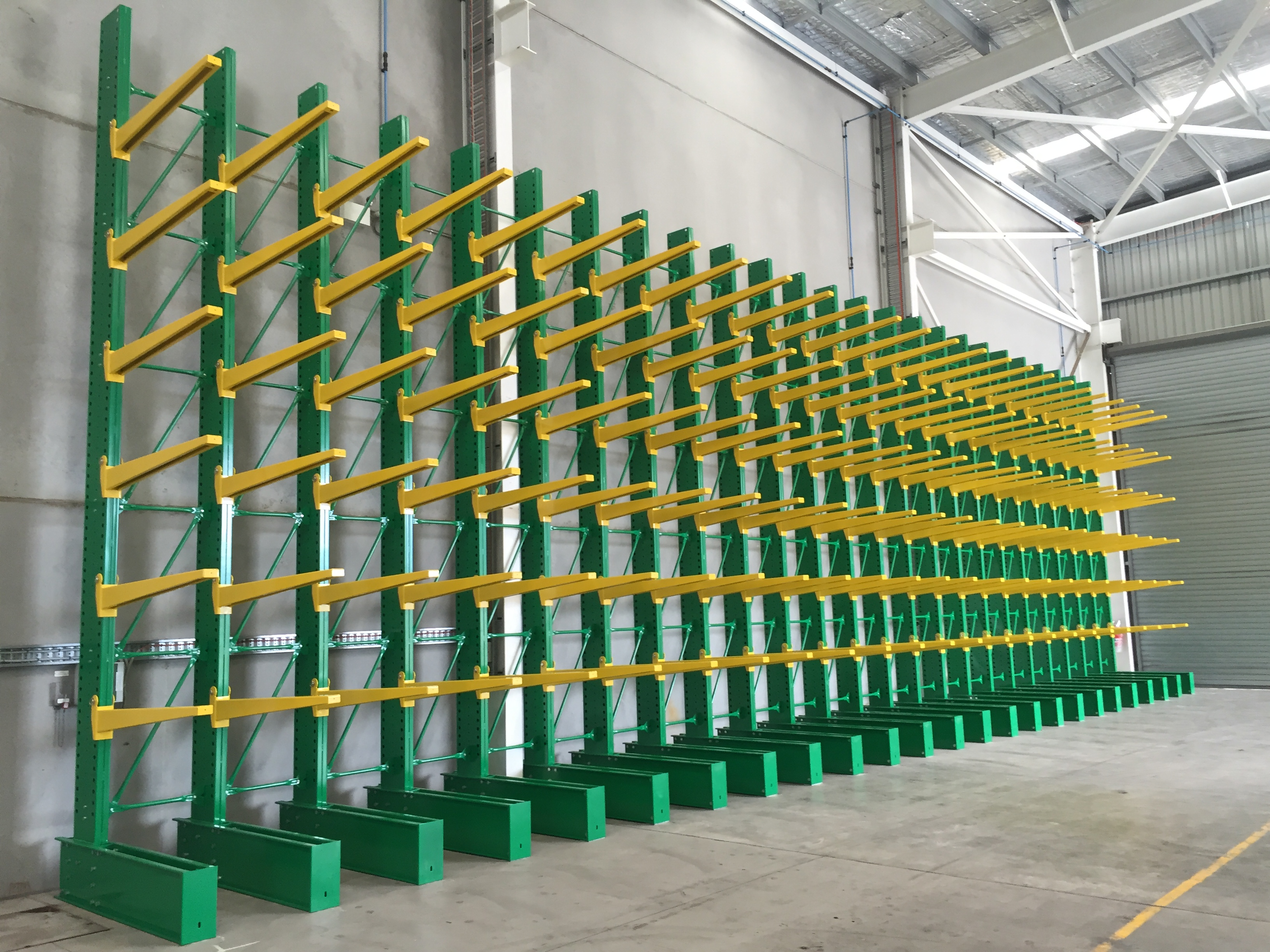 Single or double side Long bulky Storage Cantilever Rack
