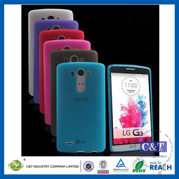 C&T New arrival rubber tpu phone case for lg g vista 2 silicone skin soft case