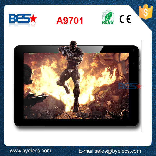"9.7"" Boxchip A20 WIFI indian sex tablet 8000mAH Android 4.2 Bluetooth Double cameras HDMI GPS 1GB RAM 8GB Wifi Dual Core 1.0GHz"