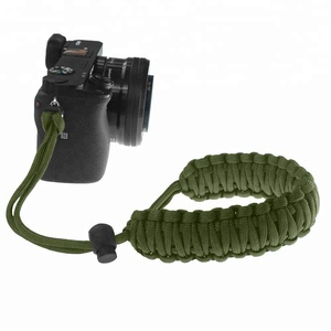 Hand Braided Parachute Cord Wrist strap for Camera,Binoculars