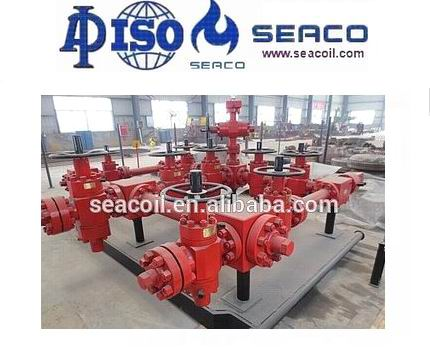 5000 PSI 3 1/16 inch  API Spec 16C Choke Manifold Petroleum Equipment