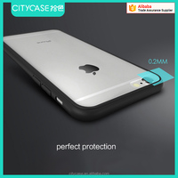 city&case For iPhone 6p bumper case clear back cover phone cases PC TPU Case for Apple iphone 6S