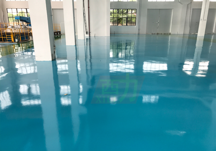 Anti slid epoxy paint floor for mortar cement free sample epoxy resin flooring coating