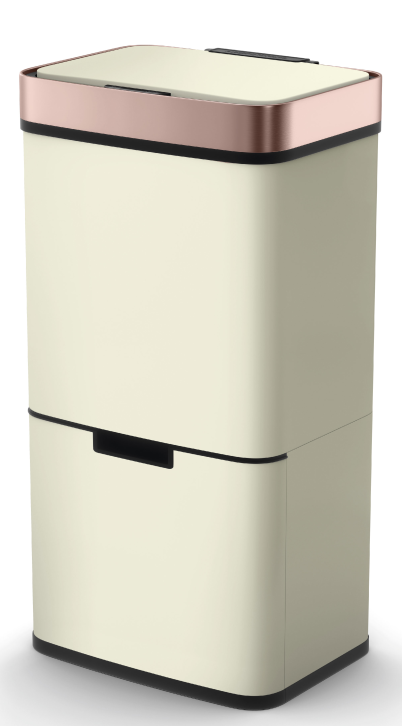 72L Hot sale Sensor Trash bin stainless steel household touchless Sensor Dustbin wholesale big capacity recycling dustbin
