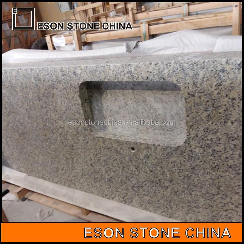 eson piedra giallo cecilia encimera de granito para el hotel y el hogar