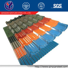 galvanized corrugated iron sheet, 60g-275g zinc coating galvanized steel sheet 2mm thick/zinc roofing materials