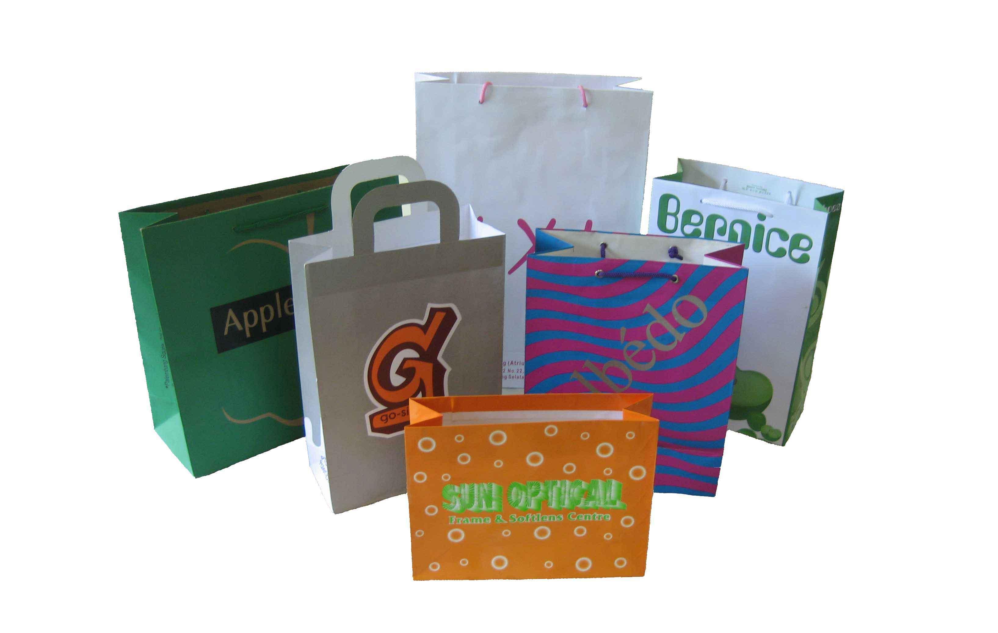 Indonesia Custom Printed Paper Bag Product On Alibaba