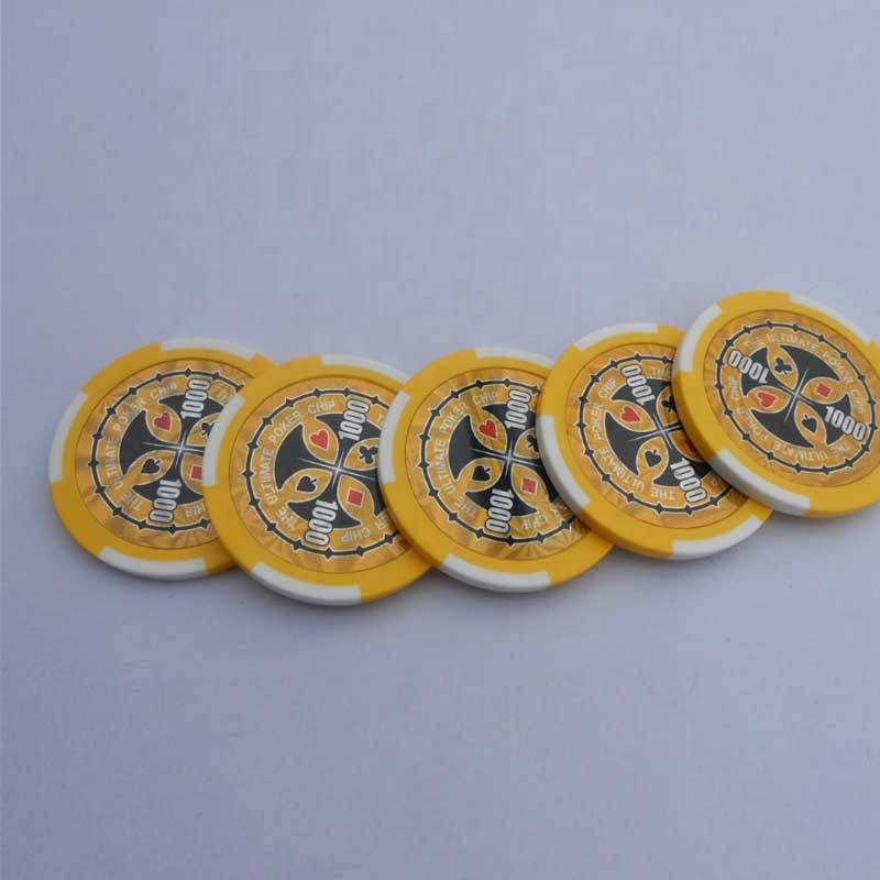 casino poker chip 500 pz set di poker