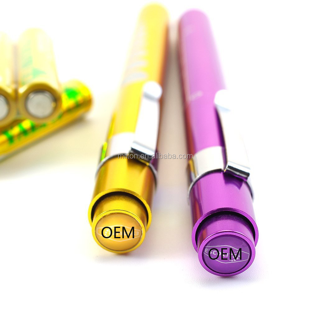 OEM 100MM length High quality LED Eye Pen Eye ruler medical pen