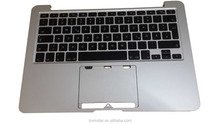 China market for Apple MacBook Pro Retina A1502 Top case with keyboards 2012 German Layout