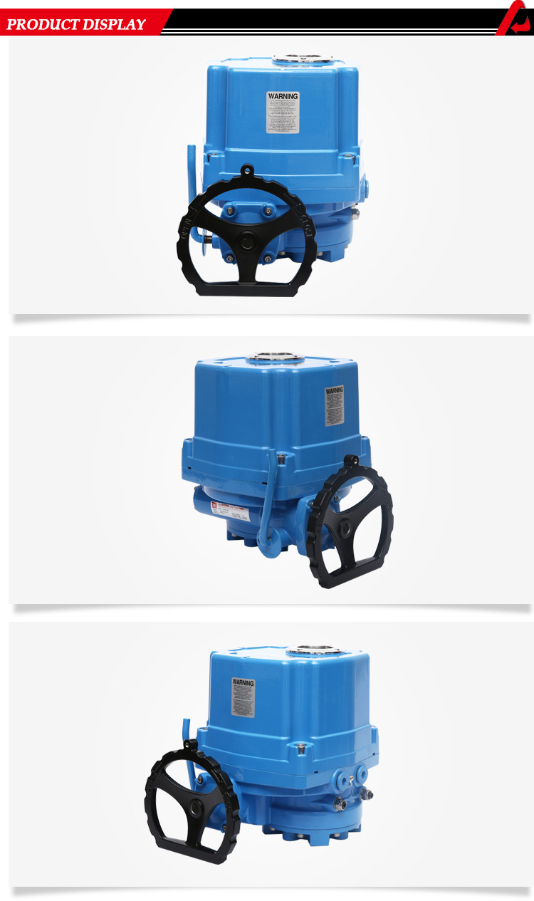 Explosion Proof Electric Actuator For Ball Valve Butterfly