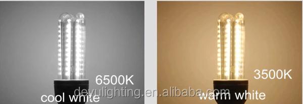 U Shape Led Lamp Incandescent Light Replacement 3u E27 B22 E14 ...