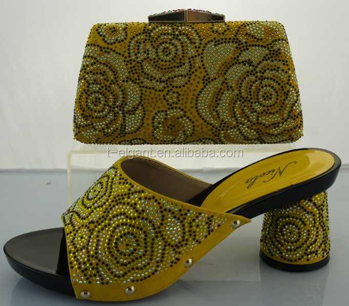 shoes fashion yellow ladies bags and new italian shoes TY2215 models nE0UScTTq