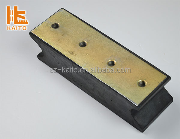 Road machine parts KR0202 rubber damper for roller compactor for VOLVO