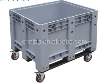 Plastic Collapsible Bulk Containers Heavy Duty Pallet Box