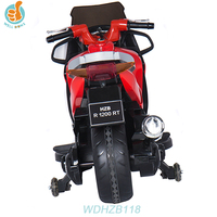 WDHZB118 Classic Design Electric Royal Baby Bike, Kids Ride On Motorcycle With MP3