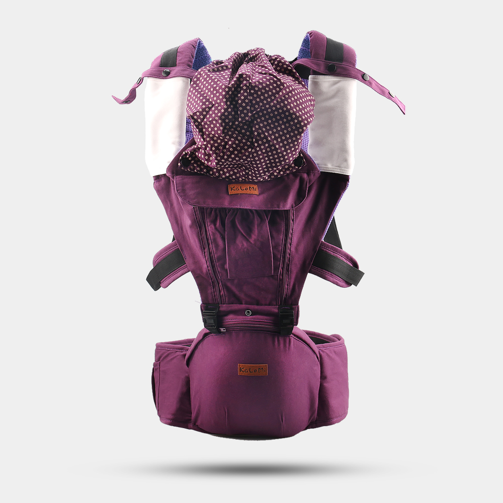 Colorful Multifunctional Baby Hip Seat Sling Carrier to Help Mom or Dad Free Hands