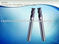4 FL.Tungsten carbide corner radius end mill