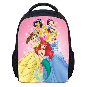 6d380d64d4 (Hot Sale) Cartoon Princess Girls Backpacks