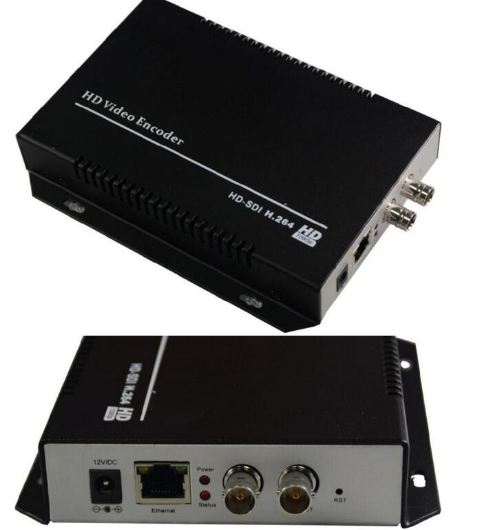 digital tv broadcast sdi hd encoder- mpeg2/h264 video distribute to video ip encoder decoderand ip
