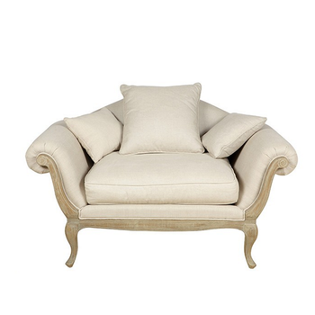 Factory Outlet High Quality Antique Reproduction Sofas Accent Lounge Sofa Chair