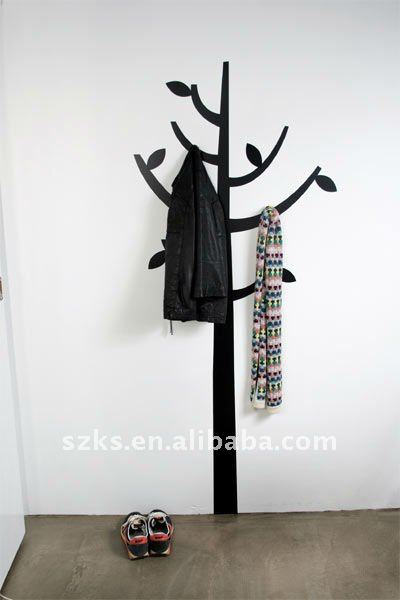Clothes tree ! new fashion decorative home decals