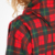 Wholesale 100% Cotton Red Plaid Mens Hoodies